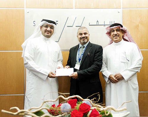BD3,000 donation to help the disabled