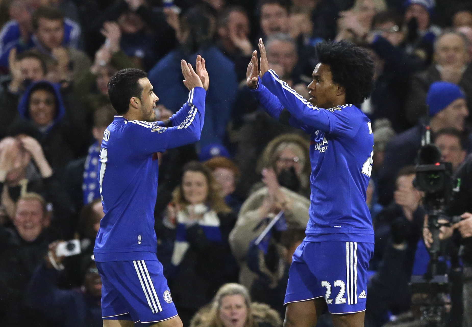 Chelsea score five past  Newcastle