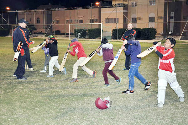 Cricket: Bahrain: Cricket academy opened