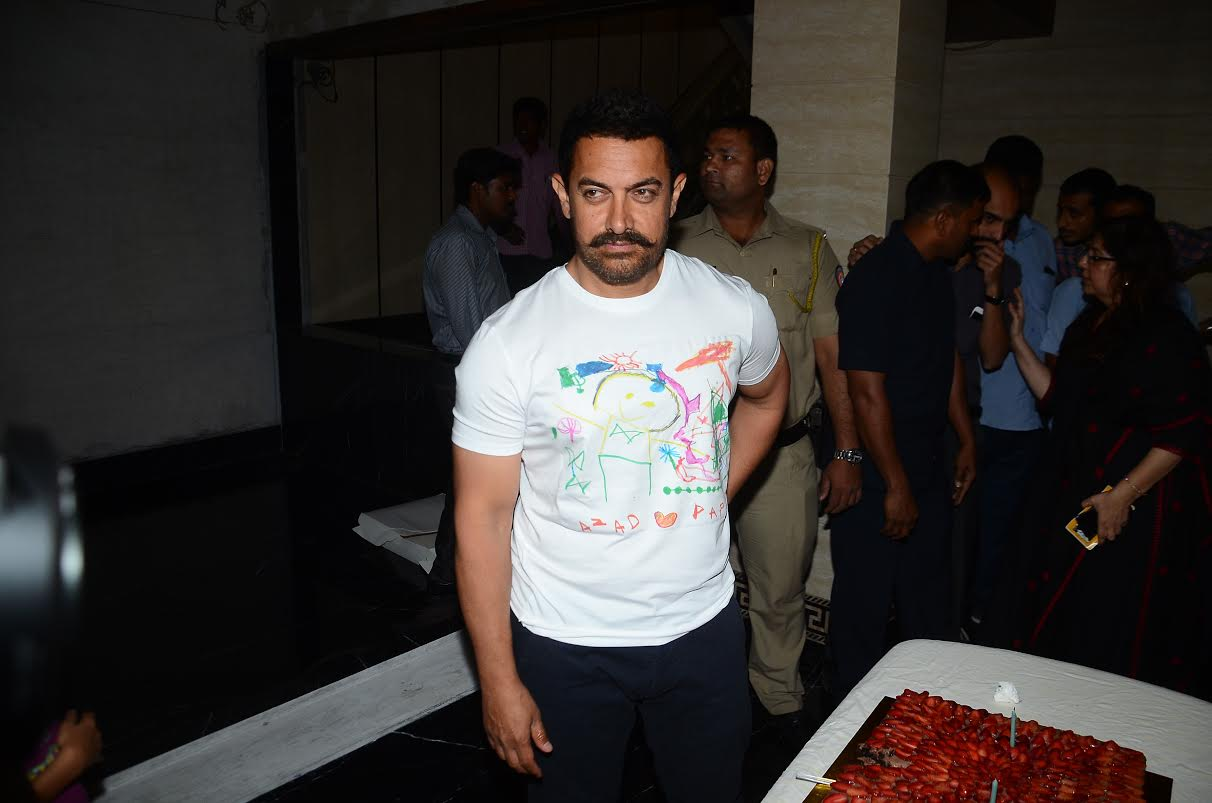 Bollywood: Aamir Khan wish on 51st birthday - to buy ancestral house for mother