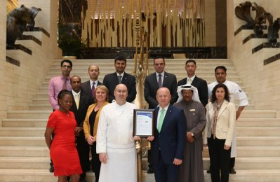 Kuwait Business: Jumeirah Messilah receives top food safety