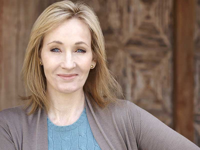 J K Rowling posts rejection letters