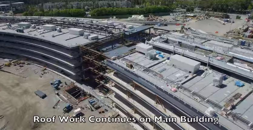 Tech Talk: Apple's new  HQ: Drone footage shows progress of the $5 billion campus