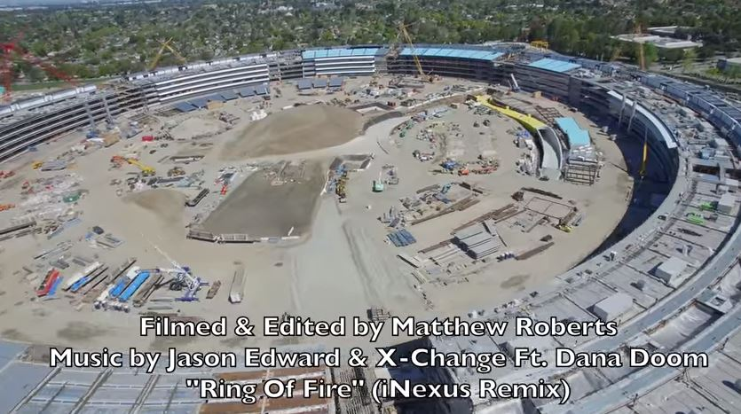 Tech Talk: Apple's new  HQ: Drone footage shows progress of the $5 billion campus
