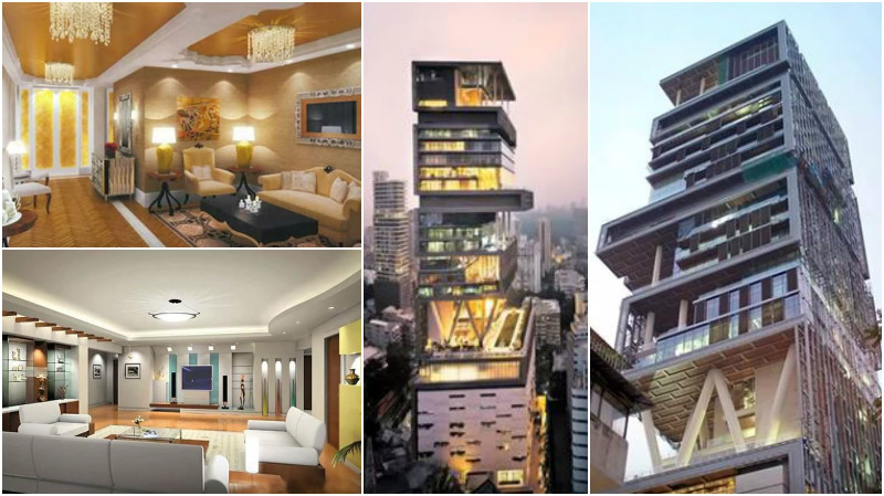OMG: Take a peek into the super-luxurious homes of your favourite celebs!