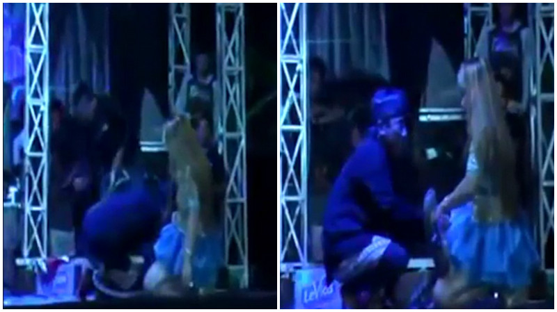 OMG: Indonesian singer performs even after being bitten by cobra and then dies on stage