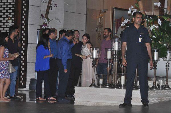 Bollywood: IN PICS: Aamir, Salman, Dhoni, Sachin attend Anant Ambani's birthday bash