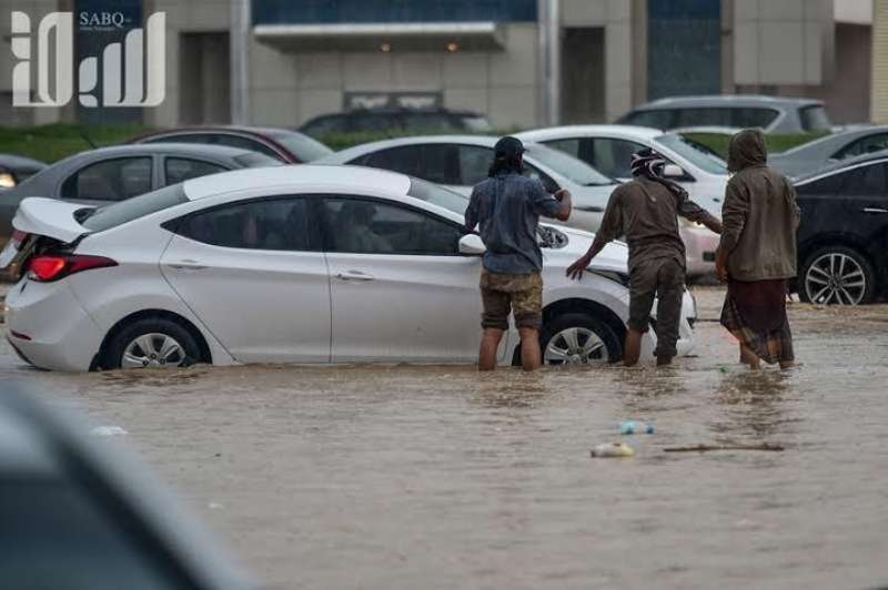 KSA: In Pics: Schools, universities closed in Riyadh due to torrential rain