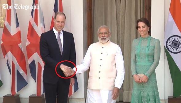 World news indian pm modi 39 s firm handshake leaves a print for Classic house akasaka prince