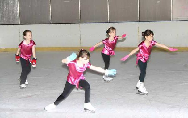 Local News: A dazzling display by 'Ice Breakers'