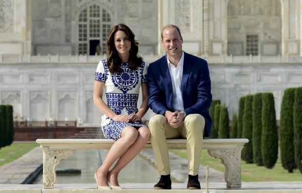 World News: IN PICS: In Princess Diana's footsteps, William and Kate visit Taj Mahal