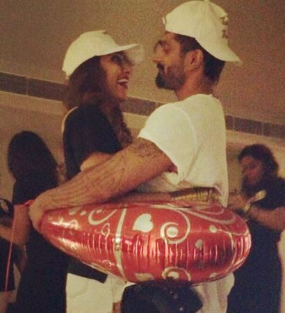 Bollywood: In Pics: Karan Singh Grover surprises Bipasha at her bridal shower