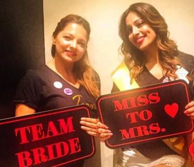 Bollywood: In Pics: Karan Singh Grover surprises Bipasha at her bridal shower