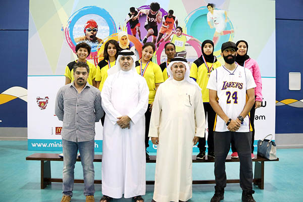 Al Noor girls win basketball trophy
