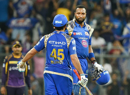 Pollard powers Mumbai to victory