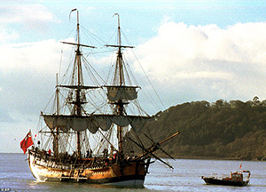 British explorer James Cook's ship 'found'