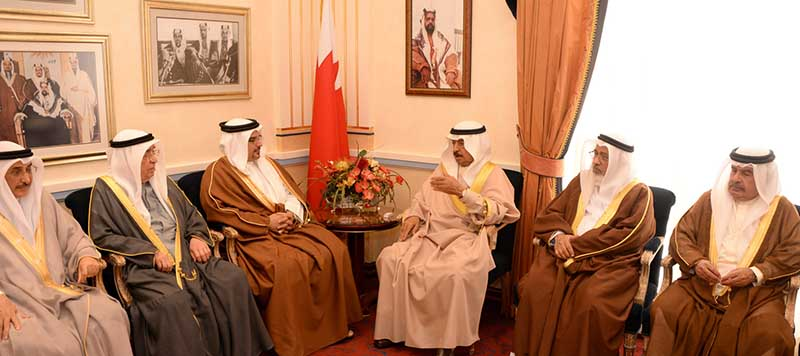 King praised for boosting Bahrain's image