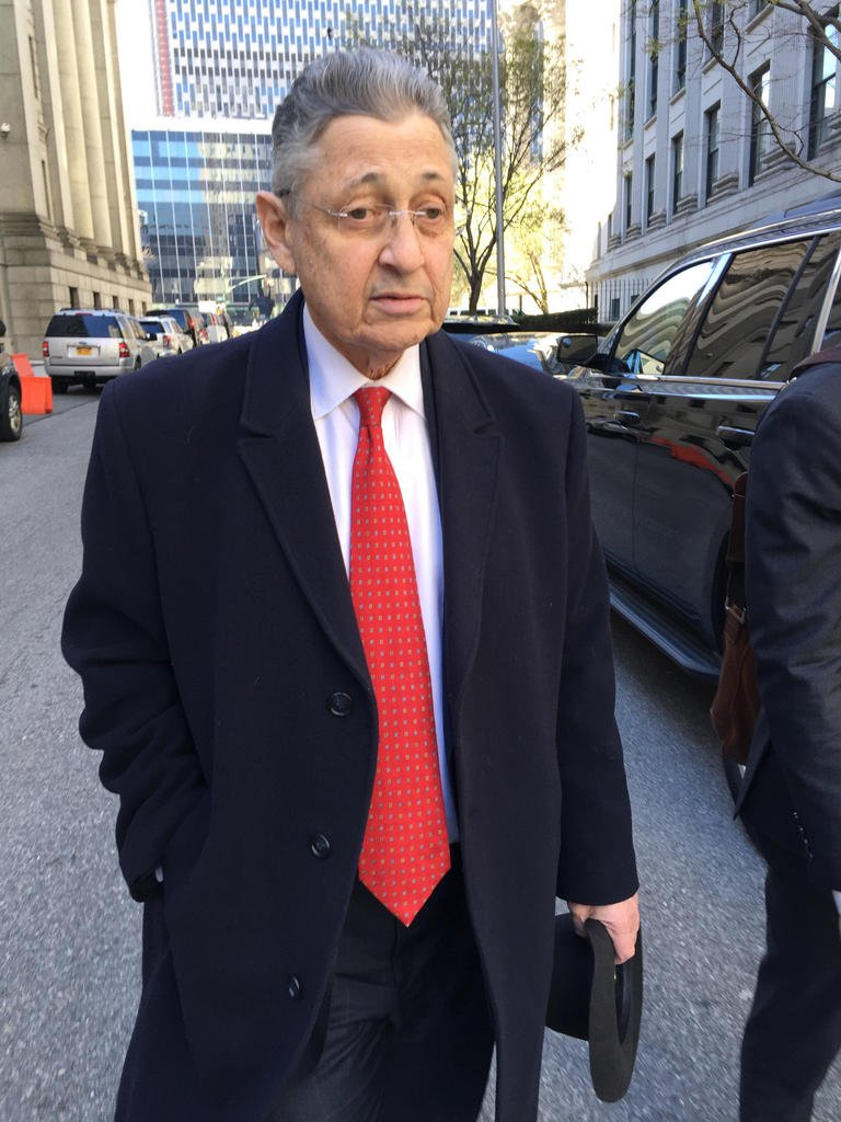Ex-New York assembly speaker to be sentenced in corruption case