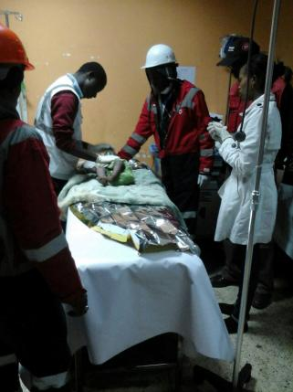 Baby pulled out alive three days after collapse of Kenya building