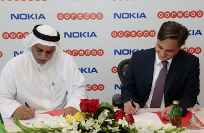 Ooredoo, Nokia sign new network expansion deal