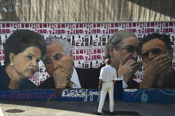 Court suspends Rousseff's foe