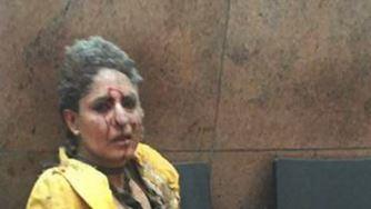Jet crew member injured in Brussels terror attack returns home