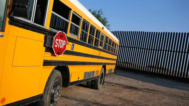 Boy, 12, stole school bus, was stopped by passer-by