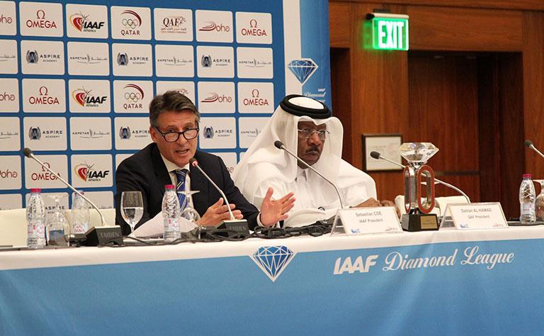 IAAF President hails Qatar as major athletics destination
