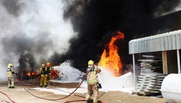 UAE: Fire destroys factory in Ajman