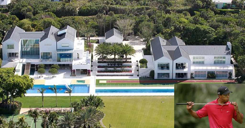 Celebs: John Travolta, Angelina Jolie: Luxury Homes Of Famous Celebrities