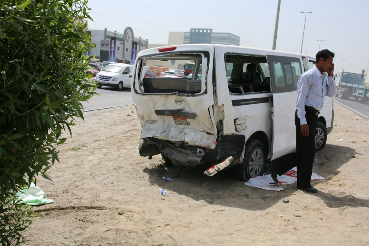 Five-car crash in Sitra leads to tailbacks