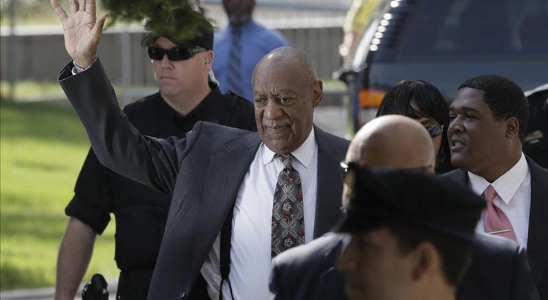Cosby arrives in court in Pennsylvania sex-assault case