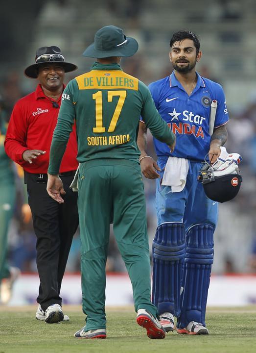 Kohli declares De Villiers the best in world