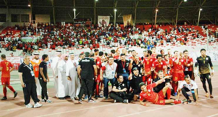 Bahrain: Muharraq clinch last-eight berth