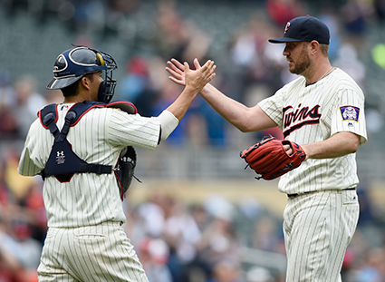 Twins stave off sweep