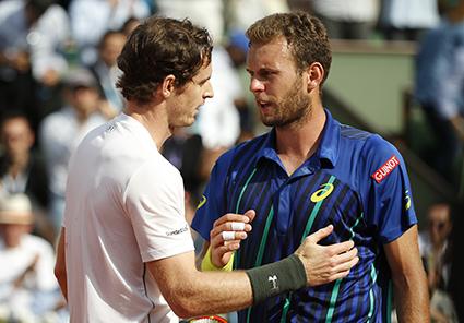 Murray survives Borgue test