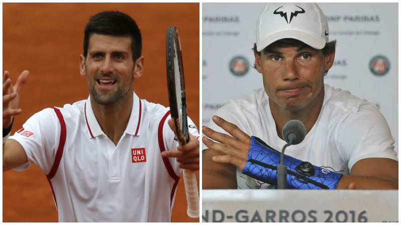 French Open: No Nadal but Djokovic back in action
