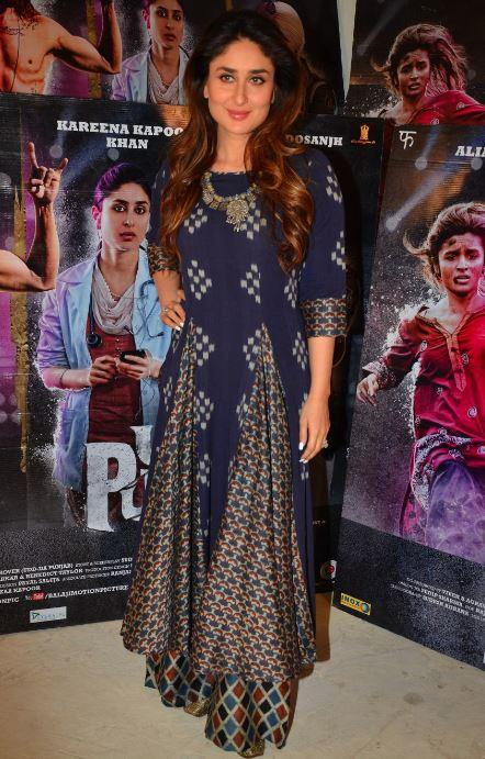 Bollywood: In Pics: Kareena Kapoor and Alia Bhatt share love at 'Udta Punjab' press meet