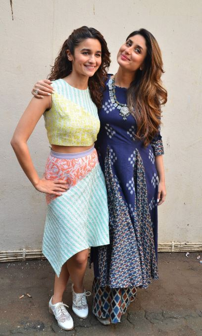 Bollywood: In Pics: Kareena Kapoor and Alia Bhatt share love at 'Udta Punjab' press meet