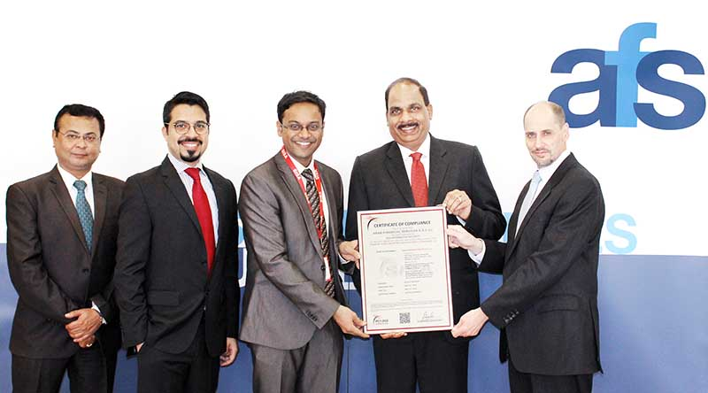 Bahrain firm wins major certification