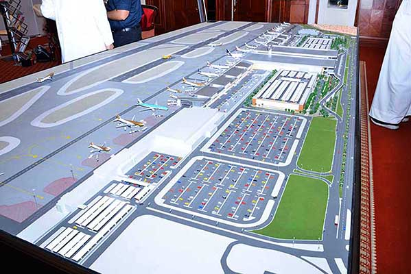 $283m raised for airport expansion