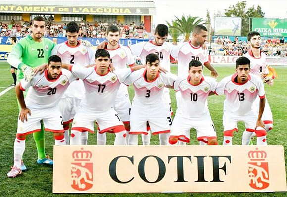 Bahraini U19 squad take on Venezuela
