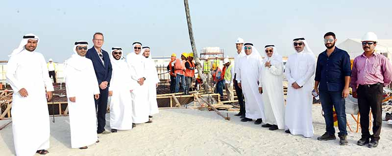 Construction work begins on major housing project