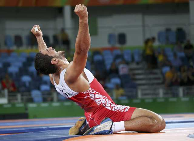 Turkey's Akgul wins men's 125kg freestyle wrestling gold