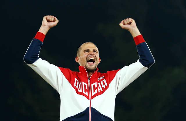 Russia's Lesun wins men's modern pentathlon gold