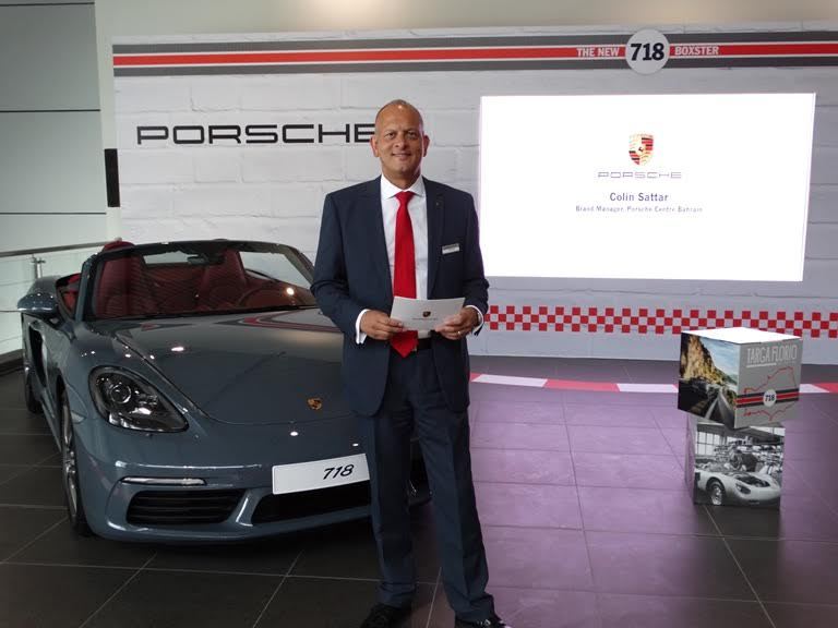 New Porsche 718 Boxster arrives in Bahrain