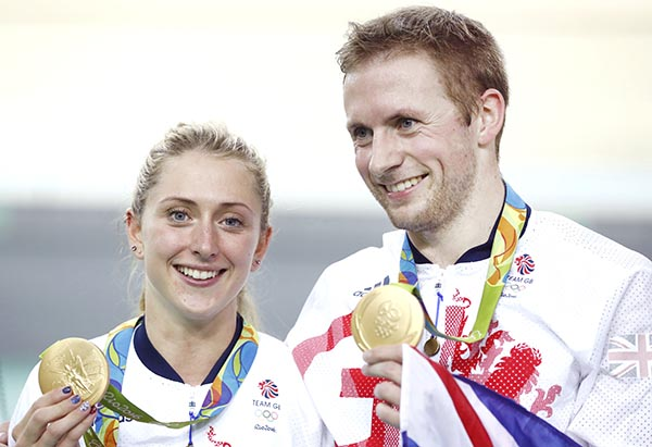 Britain power to Olympic glory