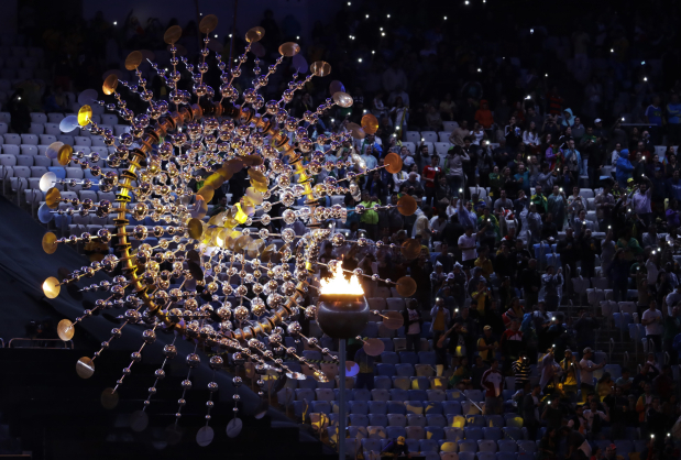 Stunning photos from final Rio Olympics party