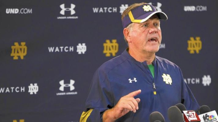 Arrests disappointed, embarrassed, angered Notre Dame coach