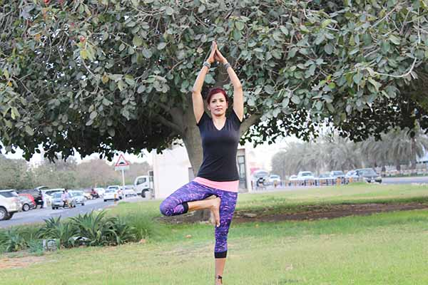 Power Of Yoga: Learn The Tree Pose - Vrikshasana